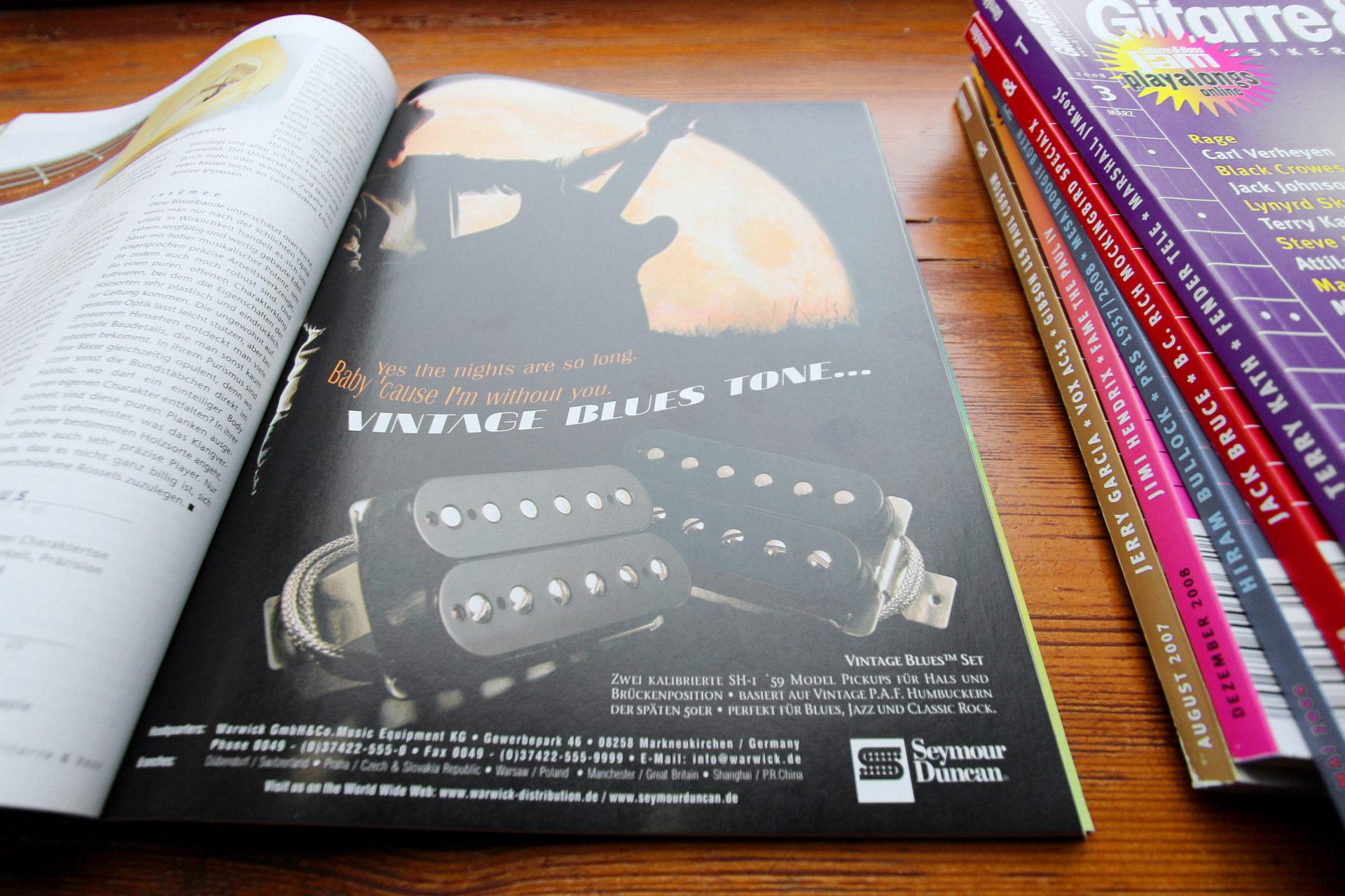 Seymour Duncan Advertisement